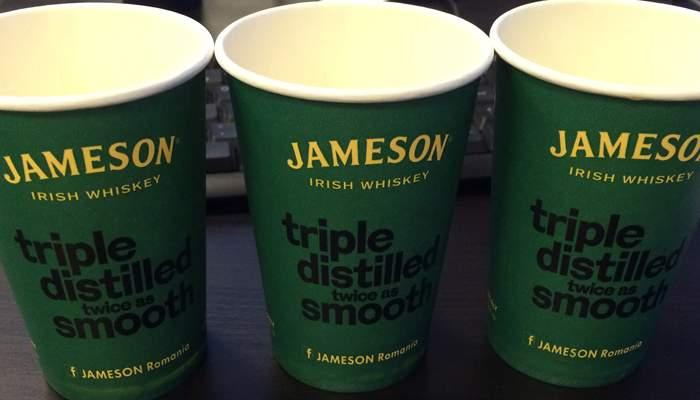Moment cultural. Redacţia a degustat un Jameson, whiskey autentic irlandez