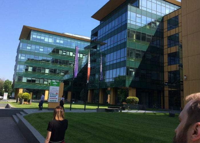 Redacţia TNR s-a mutat o zi în clădirea myhive S-Park