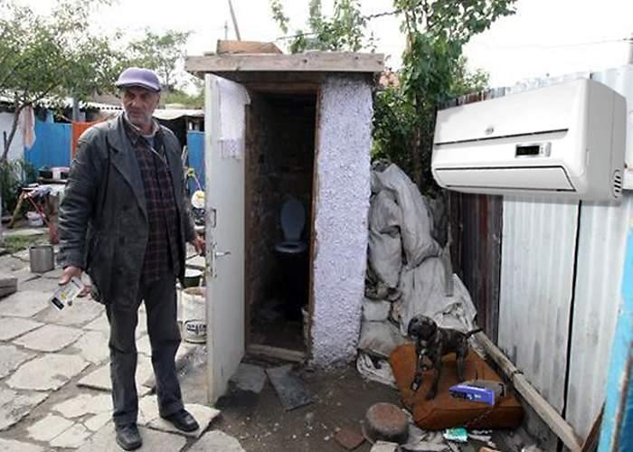 Suntem înapoiaţi! 1 din 3 români de la ţară are aerul condiţionat în fundul curţii!