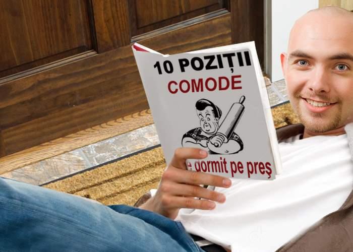 """De Mărţişor, o revistă pentru bărbaţi dă lovitura publicând """"10 poziţii comode de dormit pe preş"""""""