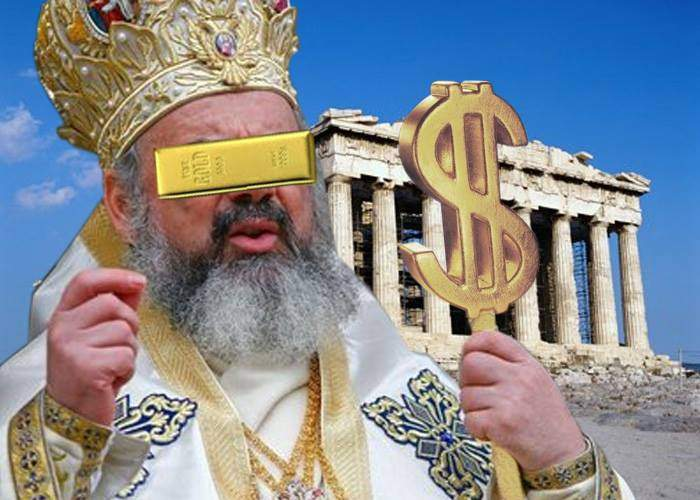 Ortodoxia salvează Grecia! Un patriarh anonim a plătit datoria și a cerut Europei să tacă din gură