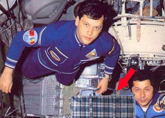 Asta înseamnă să fii respectat! NASA îi returnează lui Prunariu sacoşa de rafie cu care a fost în spaţiu