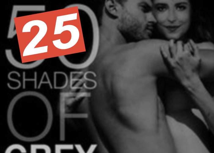 Din cauza corupţiei generalizate, pe ecranele din România au ajuns doar 25 Shades of Grey