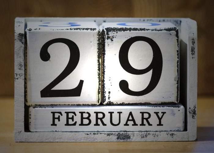 29 februarie! Alte 10 lucruri care se întâmplă o dată la 4 ani