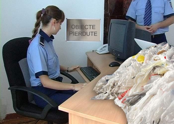 Gest nobil! Un român a găsit pe stradă o pungă cu 4000 de pungi şi a predat-o la Poliţie