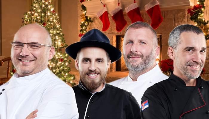 Ăsta da Crăciun! În loc de 3 magi, au venit 4 bucătari de la Răsărit!