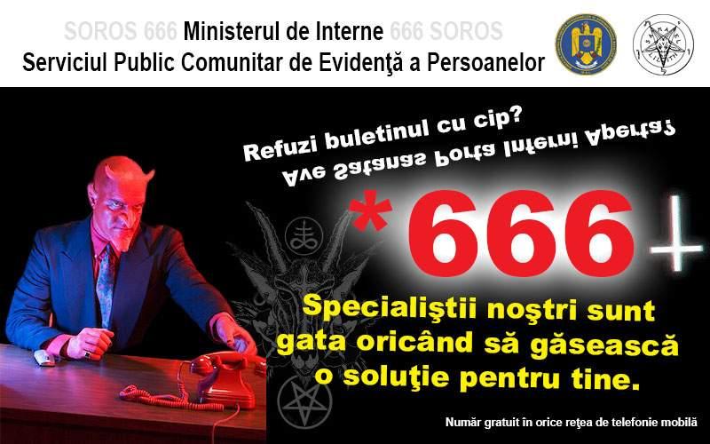 Românii care nu vor buletin cu cip pot apela *666 ca să ceară să fie scoşi de pe listă