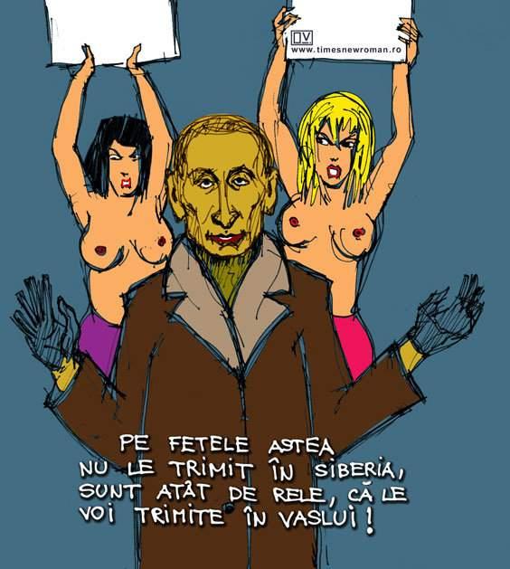 Activistele topless