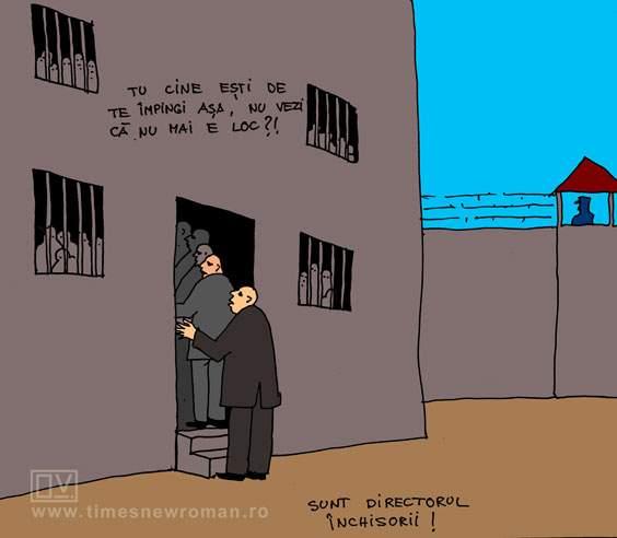 Aglomerația din închisori