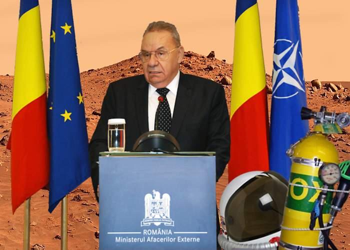 Andrei Marga va conduce misiunea diplomatică a României pe Marte