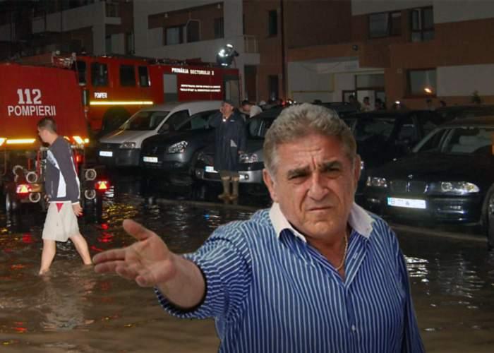 """ApaNova dă vina pe Giovanni Becali pentru inundarea Capitalei: """"Să se mai oprească din scuipat!"""""""