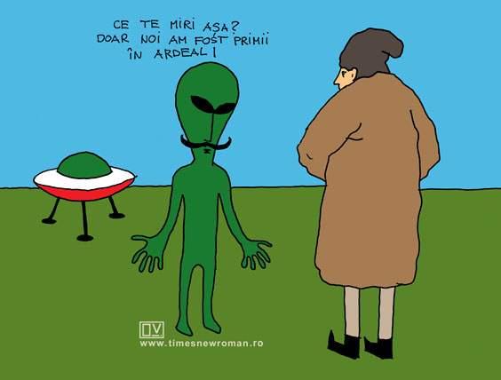 Ardealul pământ extraterestru