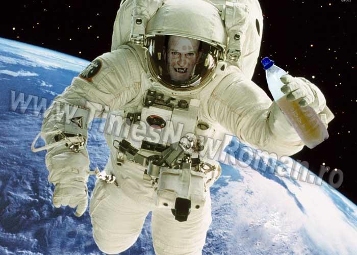 Astronauţii vasluieni au trimis prima navetă de bere în spaţiu