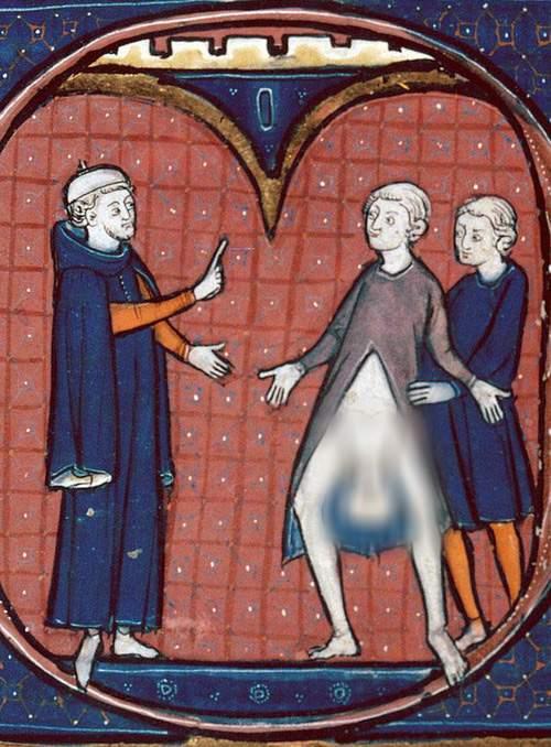 Sex în artă (XV) – Evul Mediu viril