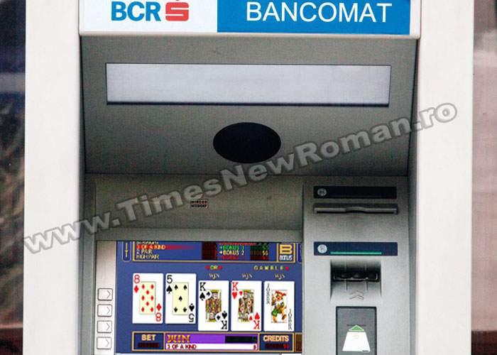 Un bancomat din Rădăuți și-a pierdut toți banii la un joc de poker