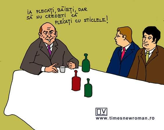 Băsescu negociază dur