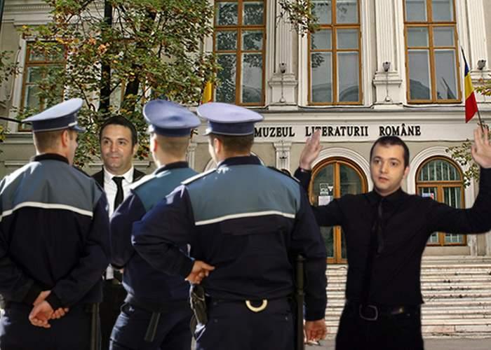 Buzdugan şi Morar, prinşi în timp ce încercau să fure glume de la muzeu