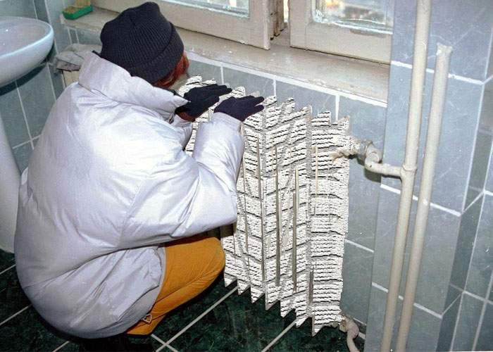 Ca să facă faţă gerului, românii vor fi obligaţi de la anul să se doteze cu calorifere de iarnă