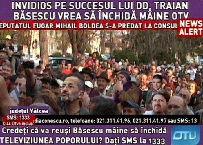 """""""Salvaţi OTV!"""", o campanie pentru prezervarea principalului izvor de prostie naturală al României"""