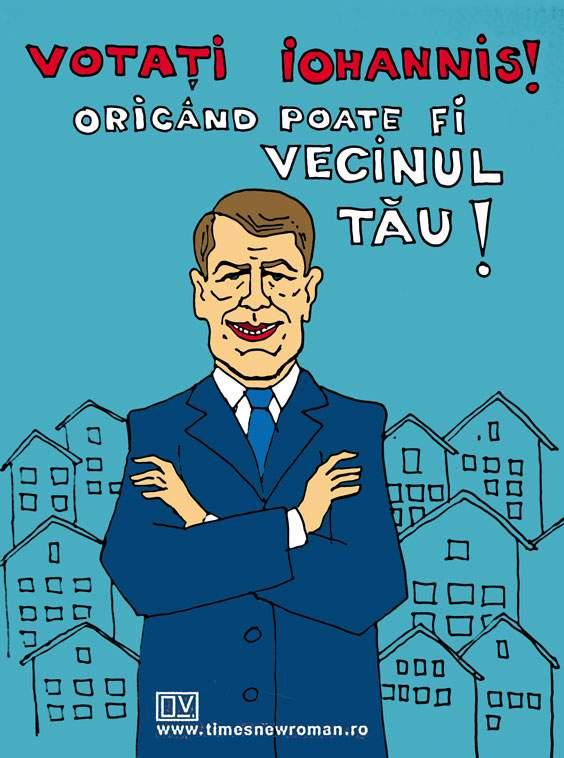 Campanie Iohannis