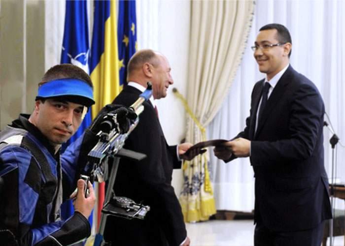 Campionul olimpic la tir, considerat de tot mai mulţi români o soluţie la criza politică
