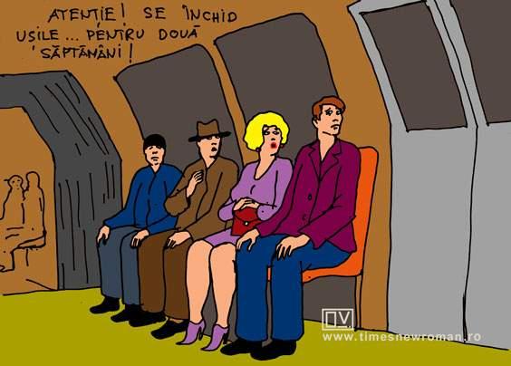Carantină la metrou