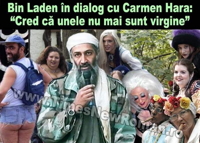 Carmen Hara a stat de vorbă cu Osama bin Laden imediat după moartea sa