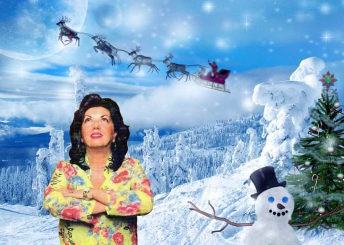 Carmen Harra a invocat spiritul Crăciunului ca să afle ce cadouri va primi