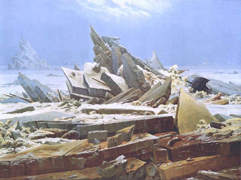 Infama istorie a romantismului (VII) – Friedrich, pictorul cel mai popular pe Backbook