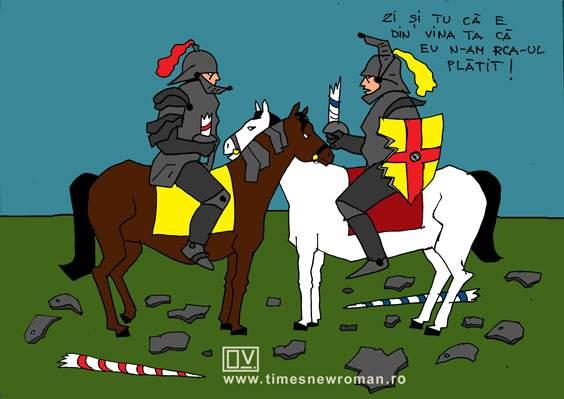 Cavaleri în trafic