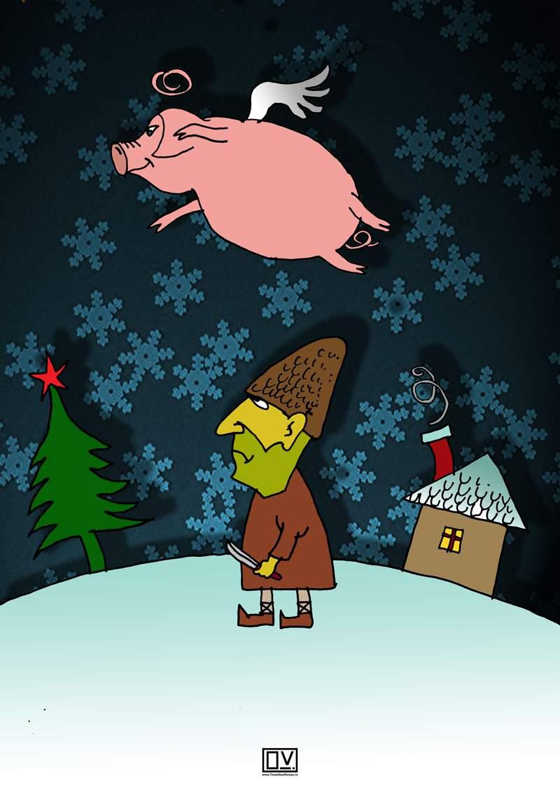 Christmas scene III