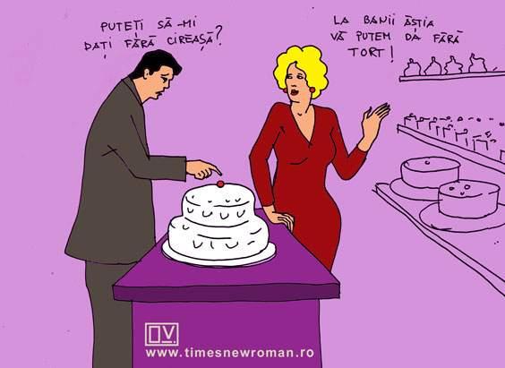 Cireașa de pe tort