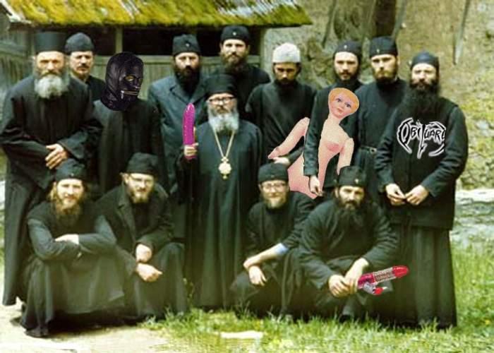 Călugării au cea mai activă şi mai variată viaţă sexuală dintre toţi românii!