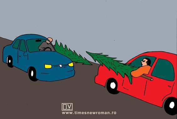 Condus agresiv de sărbători