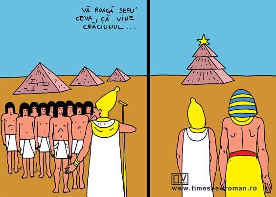 Crăciunul în Egipt