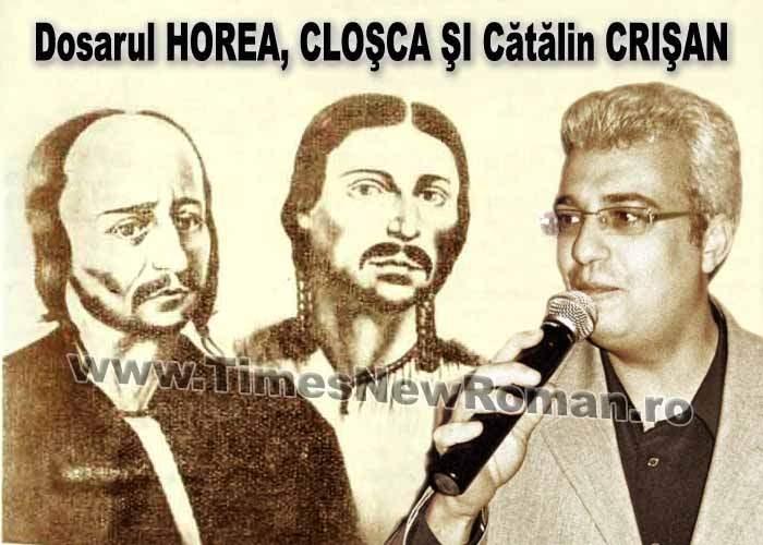 Cătălin Crişan, reţinut de DNA în dosarul Horea, Cloşca şi Crişan