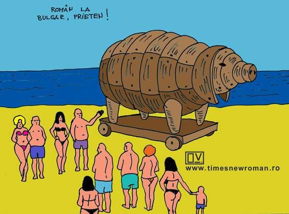Cum a ajuns pesta în Bulgaria
