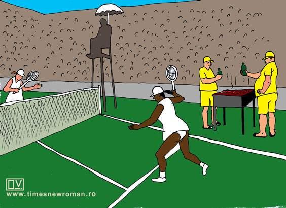 Cum recunoști suporterii români la Wimbledon