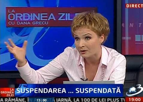 Dana Grecu își amenință copiii că îi dă pe mâna lui Băsescu dacă nu sunt cuminți