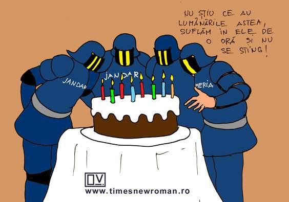 De ziua jandarmeriei