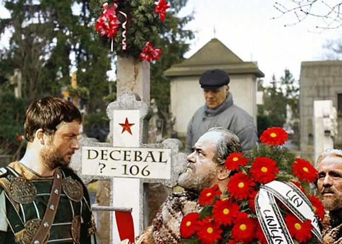 Descoperire! Decebal e înhumat la Ghencea Civil, sub o cruce anonimă!