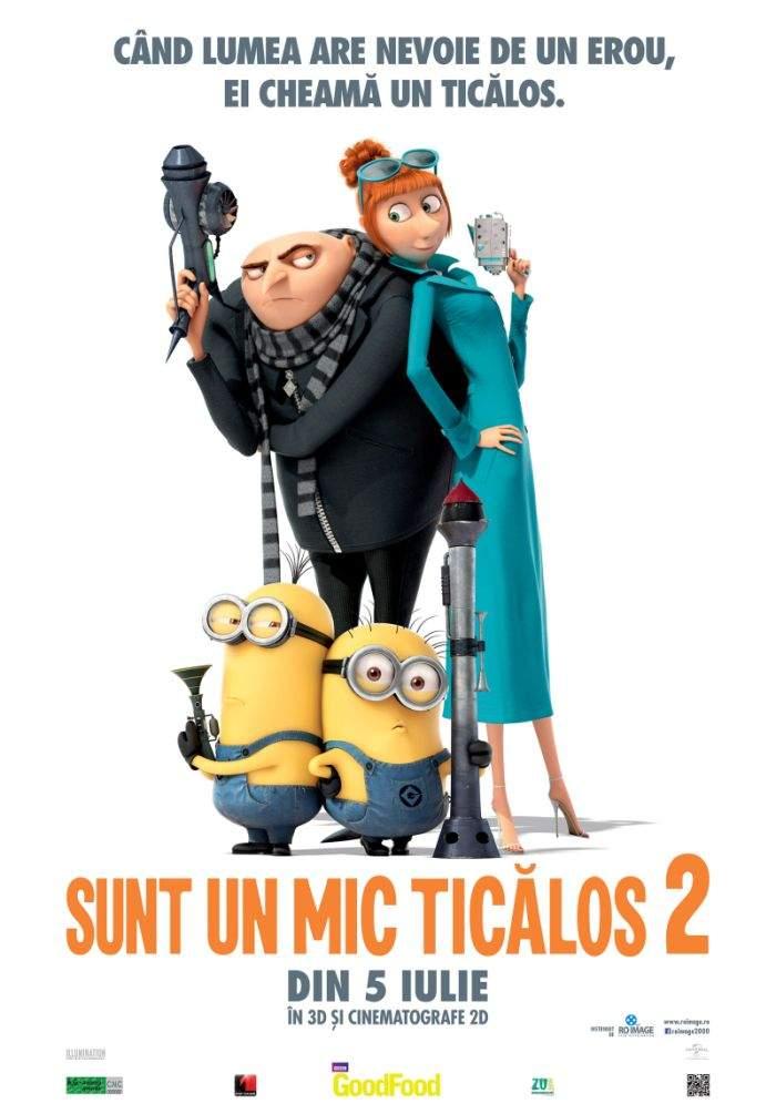Despicable Me 2 (3D) – Vara asta se poartă galben minion