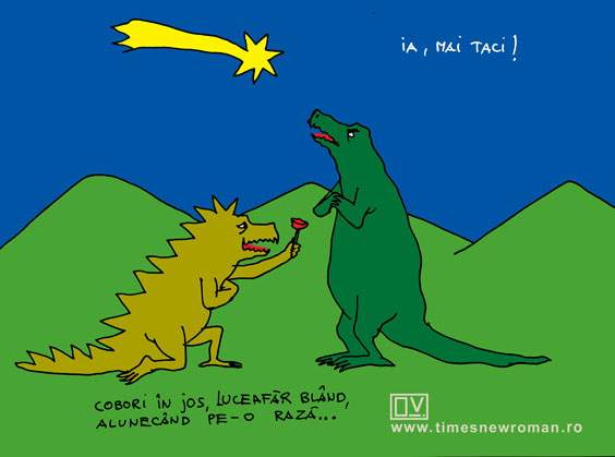 Dinozaurul poeziei