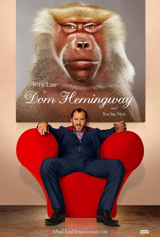 Dom Hemingway – Booze, babes & no bullets