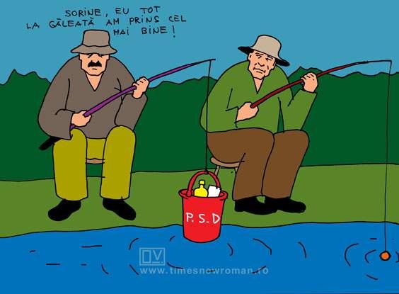 Dragnea și Grindeanu la pescuit