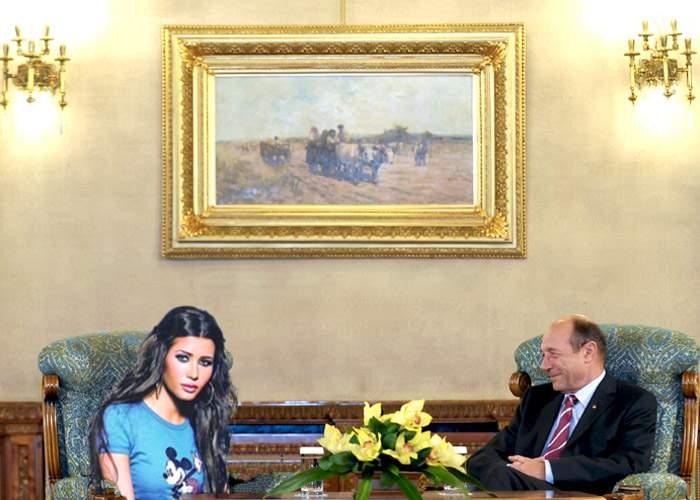 EBA a fost păcălită să dea 500 de euro ca să se pozeze cu preşedintele României!