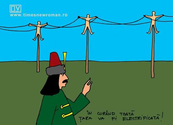 Electrificarea lui Țepeș