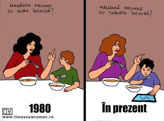 Evoluția bunelor maniere