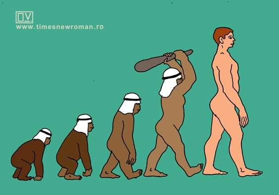 Evoluția după Allah