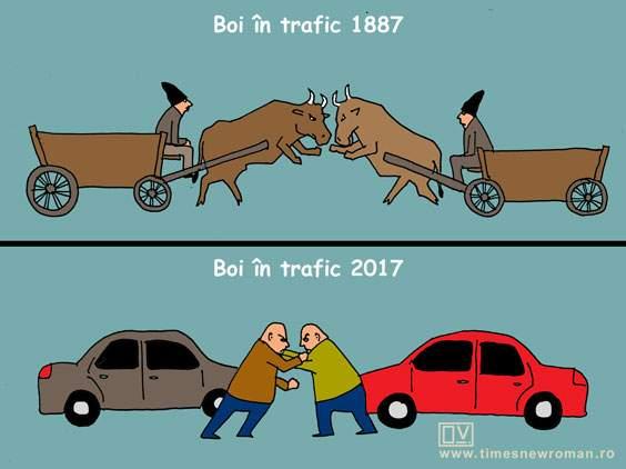 Evoluţia traficului în România